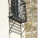 Iron Balcony #1