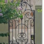 Exterior Iron Gate #2