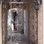 Exterior Iron Gate #5