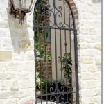 Exterior Iron Gate #6