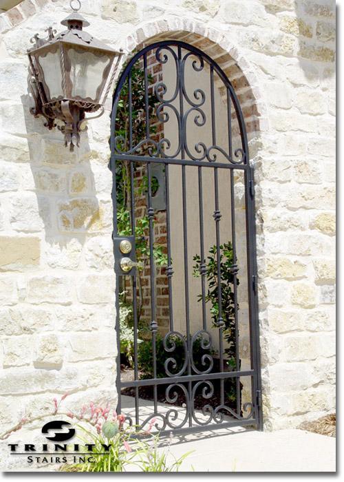 Exterior Iron Gate 6