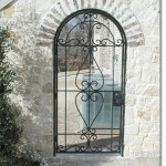 Exterior Iron Gate #9