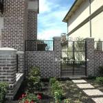 Exterior Iron Gate #11