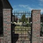 Exterior Iron Gate #13