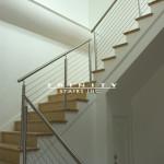 Contemporary Custom Stair #11