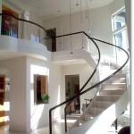 Contemporary Custom Stair #12