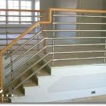 Contemporary Custom Stair #7
