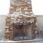 Outdoor Fire Place Screen #9