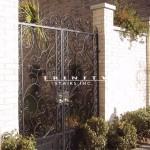 Exterior Iron Gate #14