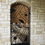Exterior Iron Gate #16