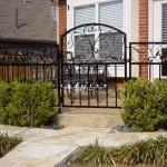 Exterior Iron Gate #21