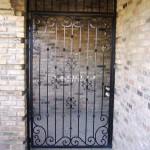 Exterior Iron Gate #22