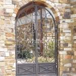 Exterior Iron Gate #23