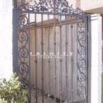 Exterior Iron Gate #24