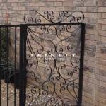 Exterior Iron Gate #25