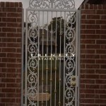 Exterior Iron Gate #31