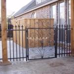 Exterior Iron Gate #34