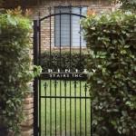 Exterior Iron Gate #36