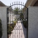 Exterior Iron Gate #42