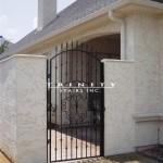 Exterior Iron Gate #43