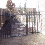 Exterior Iron Gate #44