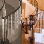 Stair Remodel Before/After #12