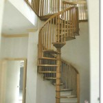 Wood Spiral Staircase #10