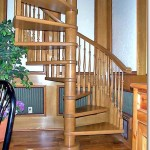Wooden Spiral Staircases #12