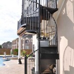 Outdoor Spiral Stairs #15