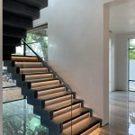38B - Modern Stair with Lighting